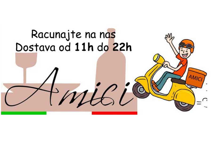 Restaurant Amici Belgrade